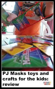 pj masks toys crafts kids review