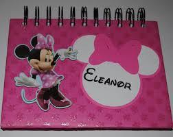 minnie mouse photo album minnie photo album baby girl birthday photo album personalized