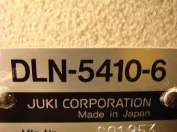 juki dln 5410 6 missing parts