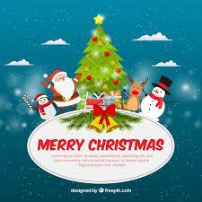 fantastic character pack smiling santa claus vector free download