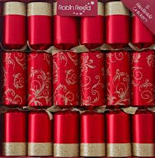 christmas crackers designer christmas crackers x12 glitzy waltz
