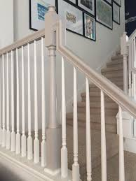 Sanding Banister Spindles Best 25 Painted Banister Ideas On Pinterest Banisters Banister