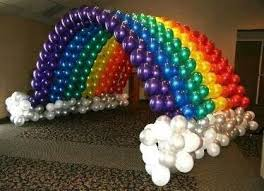 96 best unicorn and rainbow balloon decor and party ideas images