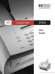 hp laserjet 3150 fax image scanner