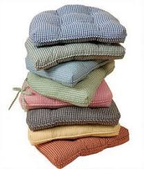 French Country Chair Cushions - french ticking chair pad u003c breakfast nook ideas u003e pinterest