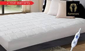 heated mattress topper groupon goods