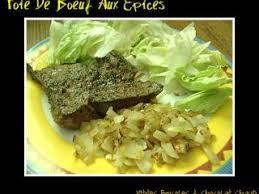 cuisiner le foie de boeuf foie de boeuf aux epices recette ptitchef