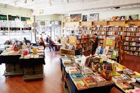 Coffee Shop In New York Bluestockings Collectively Owned And Volunteer Powered Bookstore