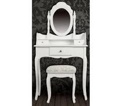 coiffeuse blanche si e avec miroir inclus acheter coiffeuse blanche siège avec miroir inclus pas cher