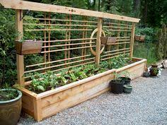 Trellis Seattle Long Raised Beds With Built In Trellis By Seattle Urban Farm