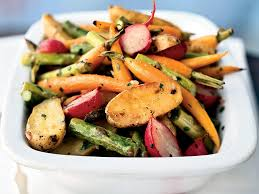 roasted baby vegetables recipe myrecipes