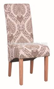 single sofa chair country style long back printed fabric single sofa chair for