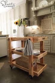 kitchen island cart plans best 25 rolling kitchen island ideas on rolling