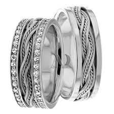 matching wedding bands virginia 7 00mm wide diamond matching wedding bands 1 2 ctw