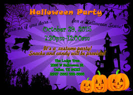 halloween party invitation template free halloween party invitation templates cimvitation dinner
