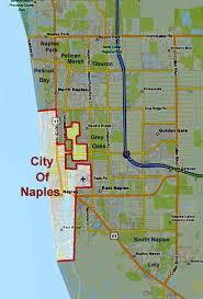map of naples fl city of naples florida