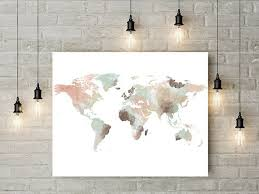 Map Wall Decor by Best 25 World Map Wall Ideas On Travel