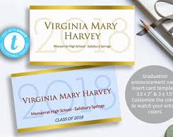 graduation name cards name cards etsy