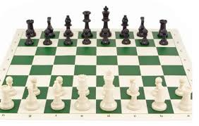 how to set up chess table tournament chess set 95mm double weighted pieces with roll up board