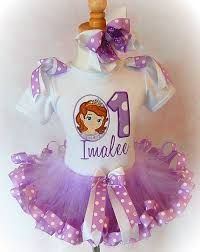 sofia the ribbon sofia the birthday party dress sofia the tutu set