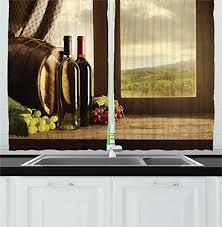 Wine Decor For Kitchen Winery Decor Amazon Com