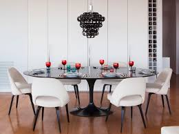 The Dining Room Brooklyn Desirable In New York Modern Apartment Has Stunning Views Of