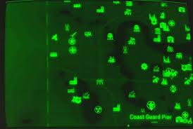 Fallout 3 Bobblehead Map by Image Fo4 Map Coast Guard Pier Jpg Fallout Wiki Fandom