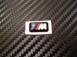 logo bmw m plaquette m pour jantes alliage performance store