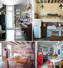 50s kitchen ideas kitchens with 50s style smeg fridge decoholic