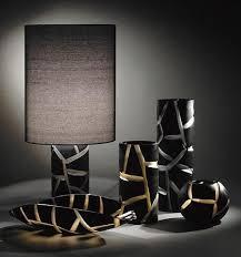 modern glass lamp lamps giraffe and zebra look vivarini animal