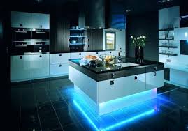 kitchen island led lighting kitchen islands black and white contemporary cabinets in with wood