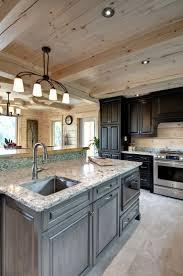 Log Home Kitchen Cabinets 85 Best Kitchen Inspiration Images On Pinterest Timber Frames