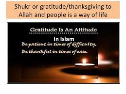 shukr thanksgiving