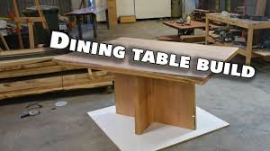 making a square dining room table live edge blackbutt rustic