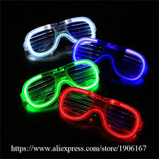 party sunglasses with lights aliexpress com buy newest el wire party sunglasses colorful led