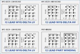12 lead motor wiring diagram americansilvercoins info