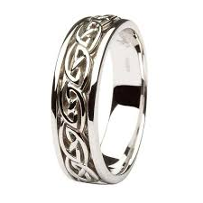 celtic wedding rings gents gold wedding ring celtic knot design