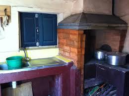 cuisine au feu de bois la cuisine et feu de bois photo de enfants du vsmam