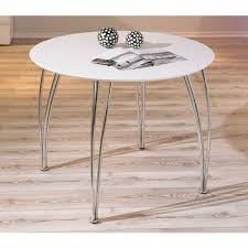 Table Ronde Extensible Blanche by Table Ronde Bois Massif Avec Rallonge Table à Manger Ronde
