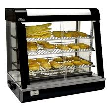 heated food display warmer cabinet case modena thfm modena thfm electric countertop pie warmer food