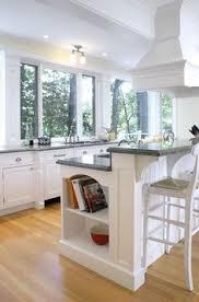 kitchen breakfast bar ideas breakfast bar open shelves on end for my cookbooks kitchen