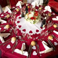 deco table marin centre de table cœur blanc déco table mariage féezia