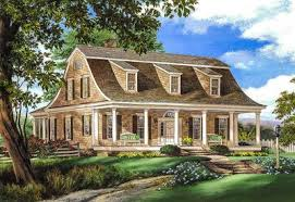 gambrel house plans gambrel house plan with 2 stairs 32629wp architectural designs