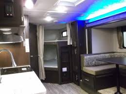 Grey Wolf DBH Travel Trailer With Bunk Beds - Travel trailer with bunk beds