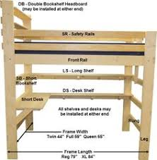 Build Your Own Wood Bunk Beds by Easy Strong Cheap Bunk Bed Diy Wood Projects Pinterest