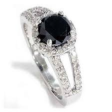 non traditional engagement rings non traditional black diamond engagement rings best images