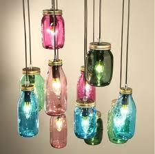 Glass Bottle Chandelier Glass Bottle Pendant Lamp Chandelier For Bar Cafe Buy Bottle