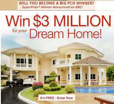 www dreamhome com pch 3 million dream home sweepstakes sweeps maniac