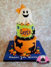 ghost first birthday cake cakecentral com