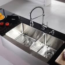 Elkay Kitchen Sinks Reviews Fireclay Farmhouse Sink Reviews Blanco Apron Sink Stainless Steel